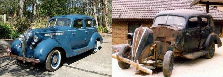 This Picture Shows The Car As It Is Today 2017 And What Phil Haxby Started With In 1977