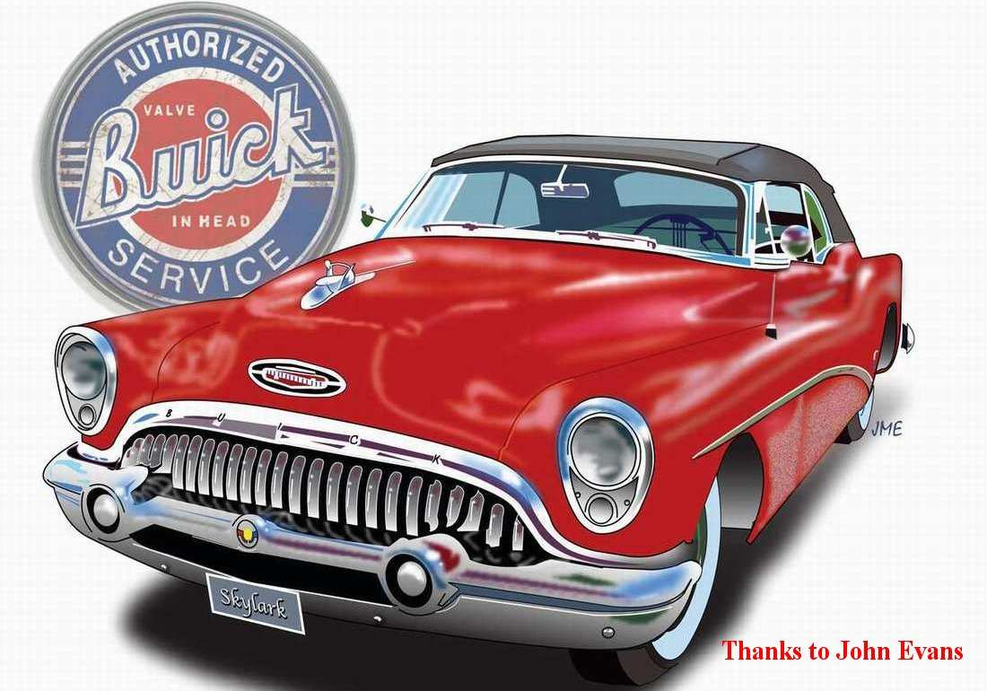 The Buickfrom 1950 1959 1951 Buick Skylark Convertible For Sale