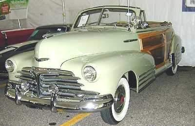 A Picture Review of the Chevrolet from1947-1958