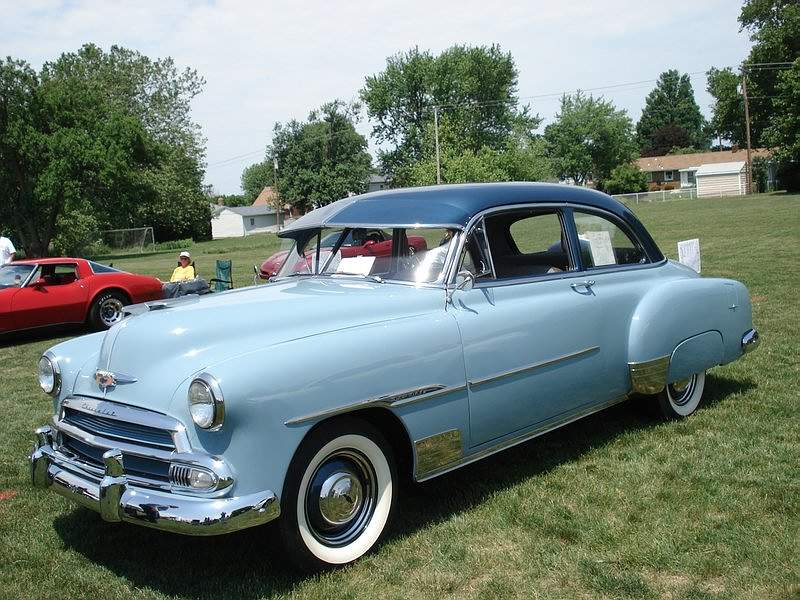 1950 chevrolet styleline deluxe cars cars cars pinterest for 1951 chevy 2 door coupe