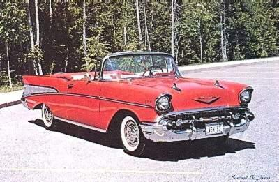 Stefanie : Chevrolet Bel Air Convertible (1957)