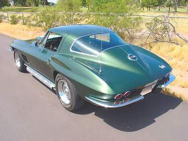 Corvette Stingray 1967 on Corvette 1967