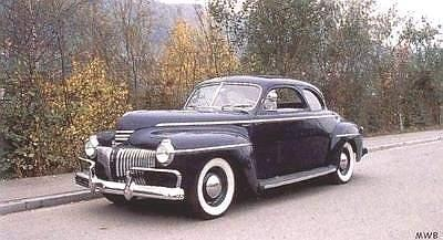 Chrysler royal window business coupe pictures for 1941 dodge 5 window coupe