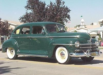 Chrysler the plymouth 1930 to 1949 for 1947 plymouth 4 door sedan