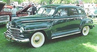Chrysler the plymouth 1930 to 1949 for 1947 plymouth 4 door