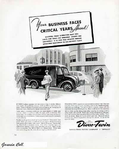 1940 divco model 31 as a delivery truck