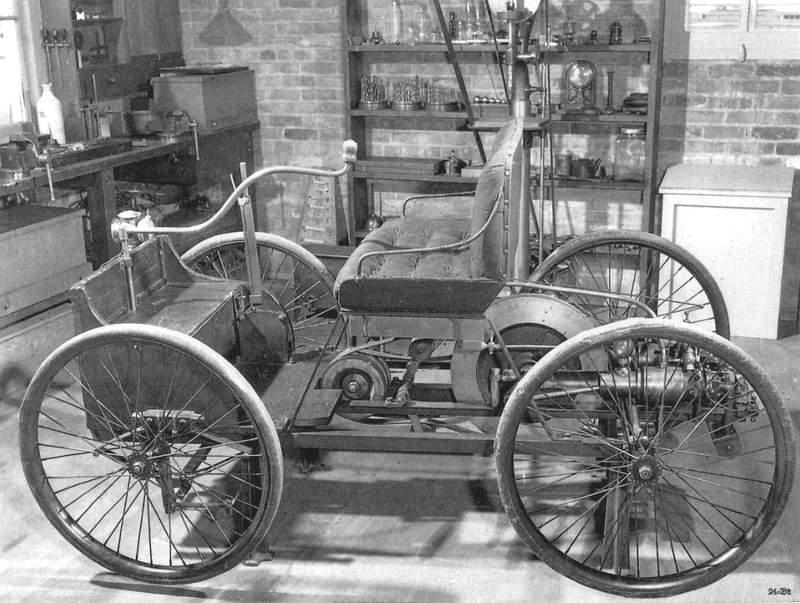 1896 Henry Ford's First Car