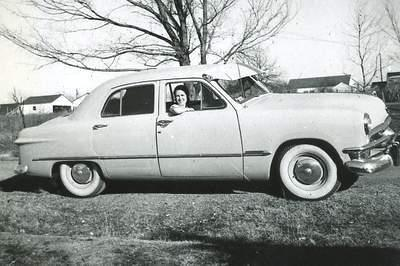 This car is owned by Delmer Watson of Ohio He had the following to say about this car.  The 50 Ford was one fine car I bought it in Kaufman & A Picture Review of the Ford from 1950-1958 markmcfarlin.com