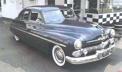 A Picture Review of the Ford from 1950-1958