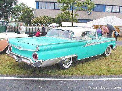 1959 Ford Galaxie Skyliner Retractable Hardtop & A Picture Review of the Ford from 1959-1964 markmcfarlin.com