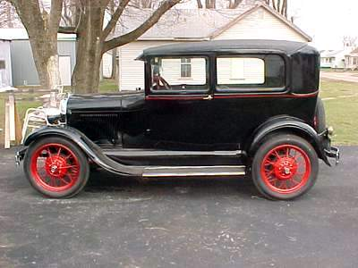 a picture review of the model a ford 1928 model a ford tudor