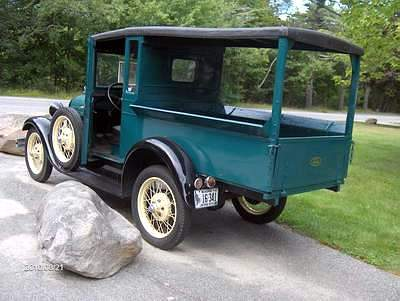 A Picture Review of The Model A Ford
