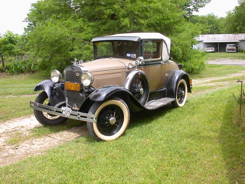 a picture review of the model a ford. Black Bedroom Furniture Sets. Home Design Ideas