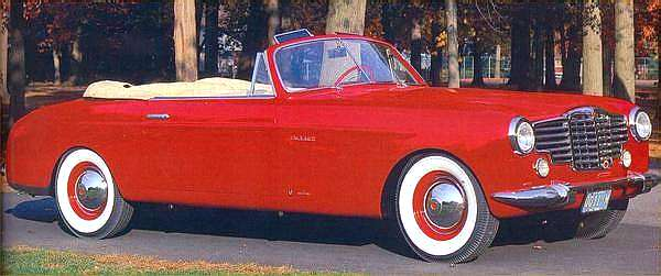 cars is the 1948 Vignale.