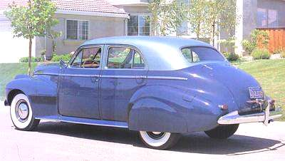 1940 oldsmobile 4 door sedan for 1948 oldsmobile 4 door sedan