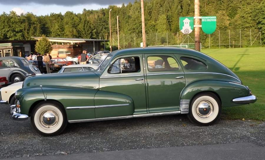 A picture review of the oldsmobile from 1901 to 1949 for 1948 oldsmobile 4 door sedan