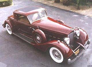 1934 PACKARD 1101 COUPE - 161982