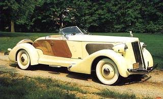 A picture review of the Packard from 1930 to 1939