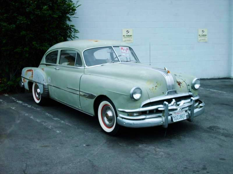 A picture review of the pontiac from 1950 to 1959 for 1950 pontiac 2 door