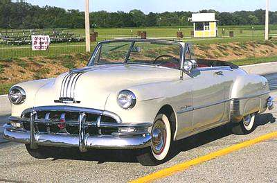 a picture review of the pontiac from 1950 to 1959 1941 Pontiac Convertible 1950 pontiac silver streak eight convertible