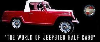 Click on this image to visit Jeff's page on the Jeepster Half Cabs