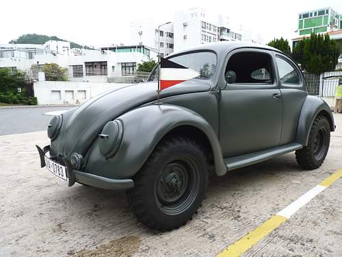 A Picture Review of the Volkswagen Beetle from 1932 to 1960