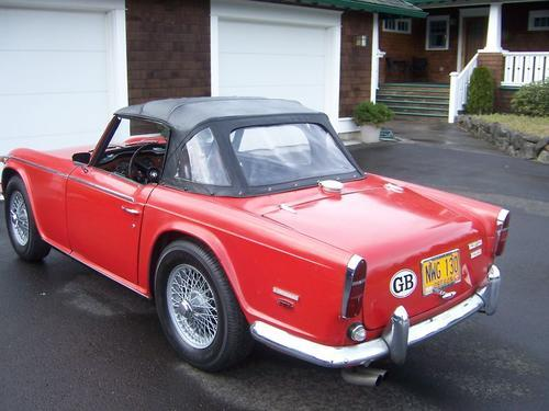 British Sports Cars Found In North America The Triumph