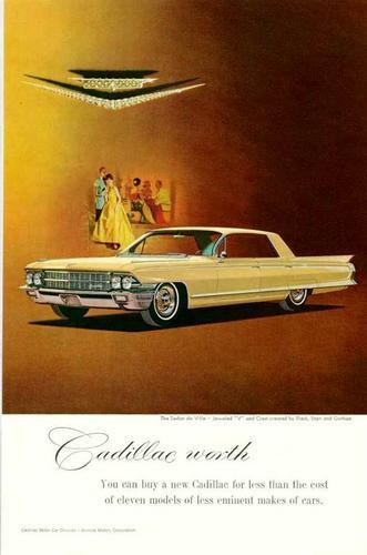 Old Car And Truck Advertisement Brochures Cadillac