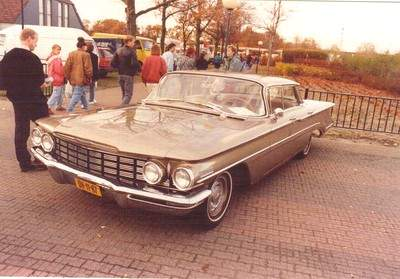 The Old North American cars of the Netherlands