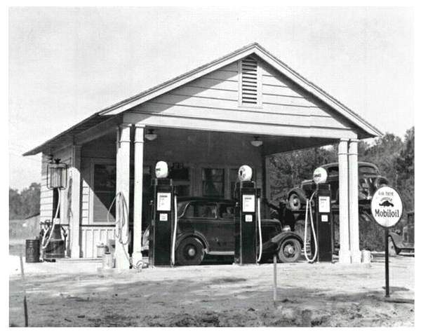 Old Service Stations When They Was Service Offered