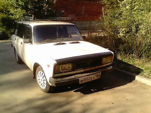 Lada Vaz B on Zil Russian Car 1980